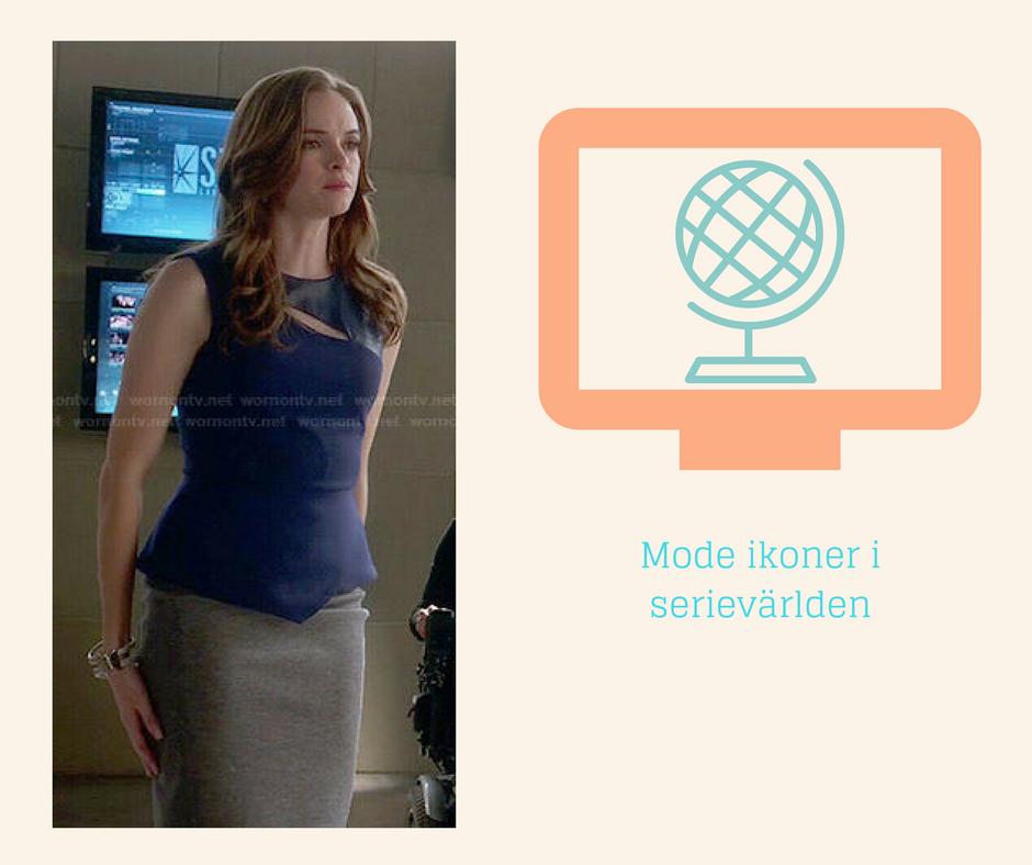 Mode ikoner i Serievärlden - Catlin Snow