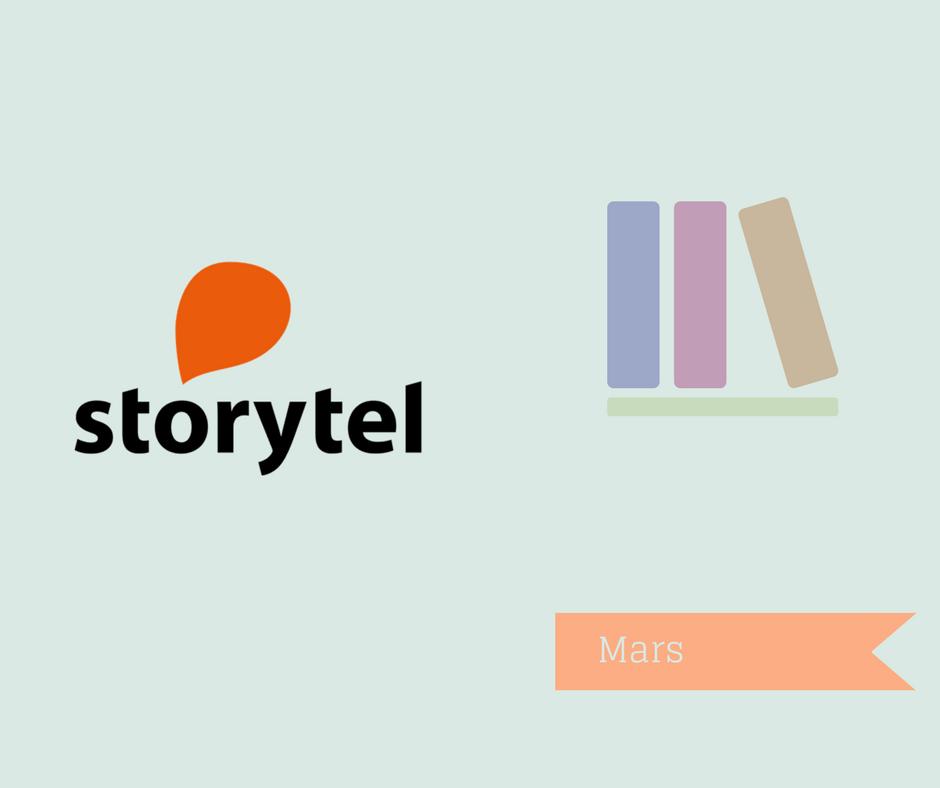 Böcker jag vill lyssna på, på Storytel