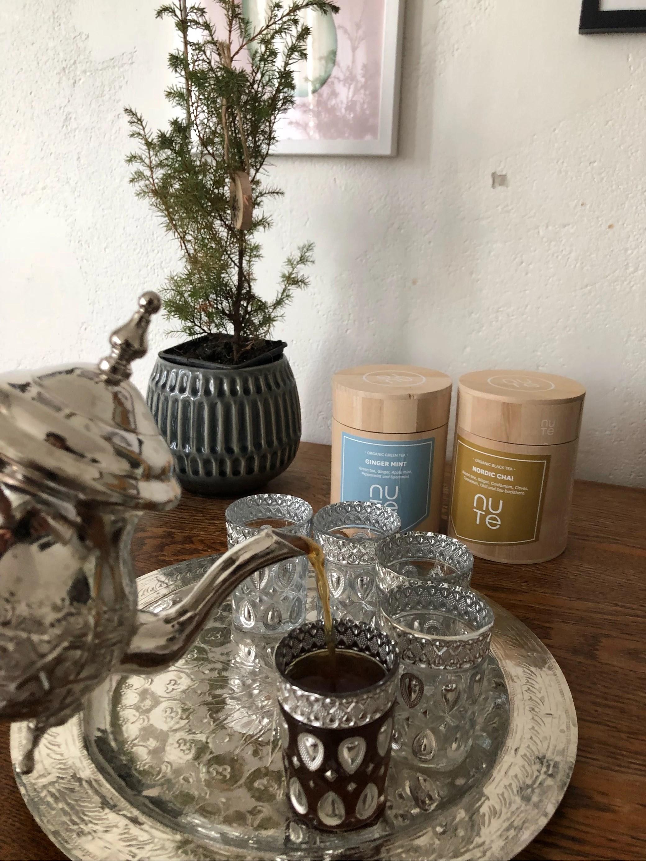 Perfekt at servere til gæster