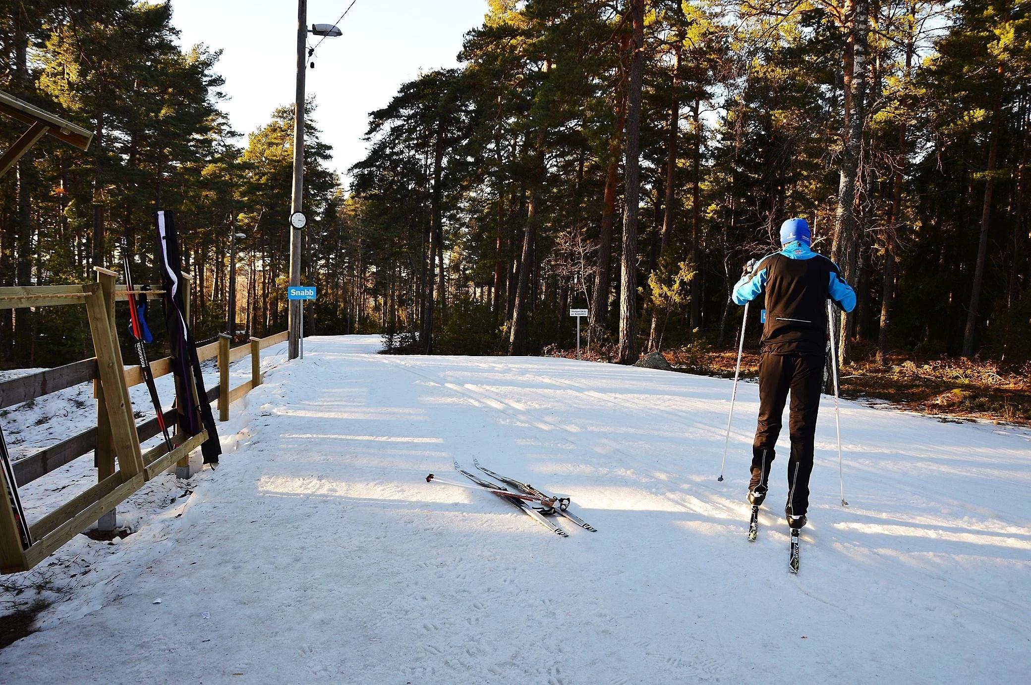 En plötslig skidabstinens