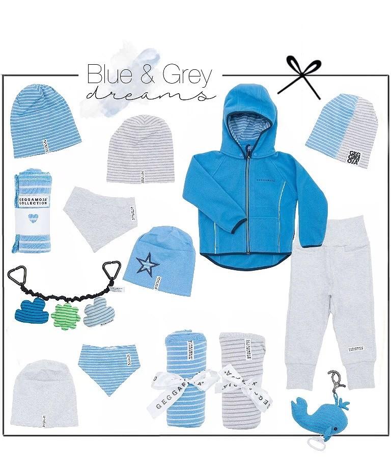 geggamoja - blue & grey