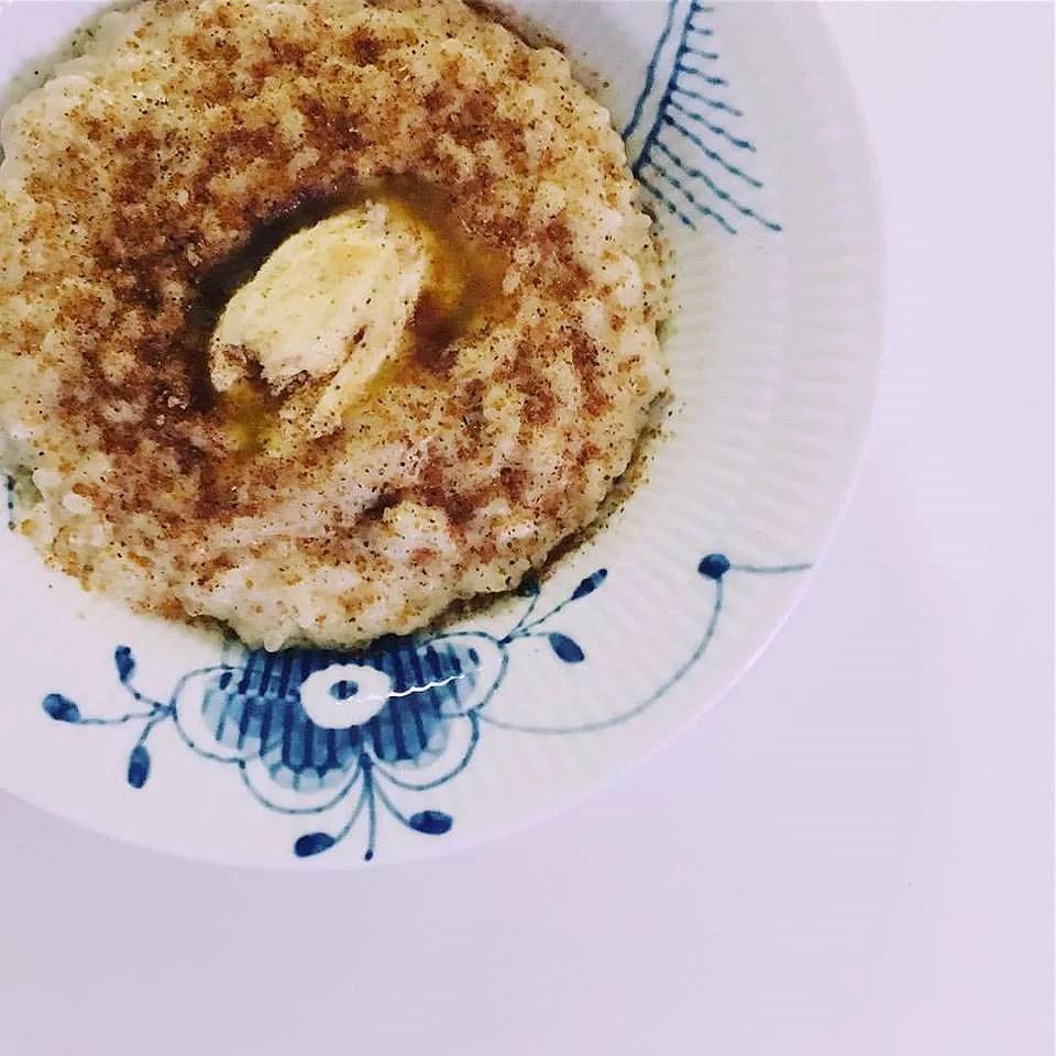 Vegansk jul: Den perfekte veganske risengrød!