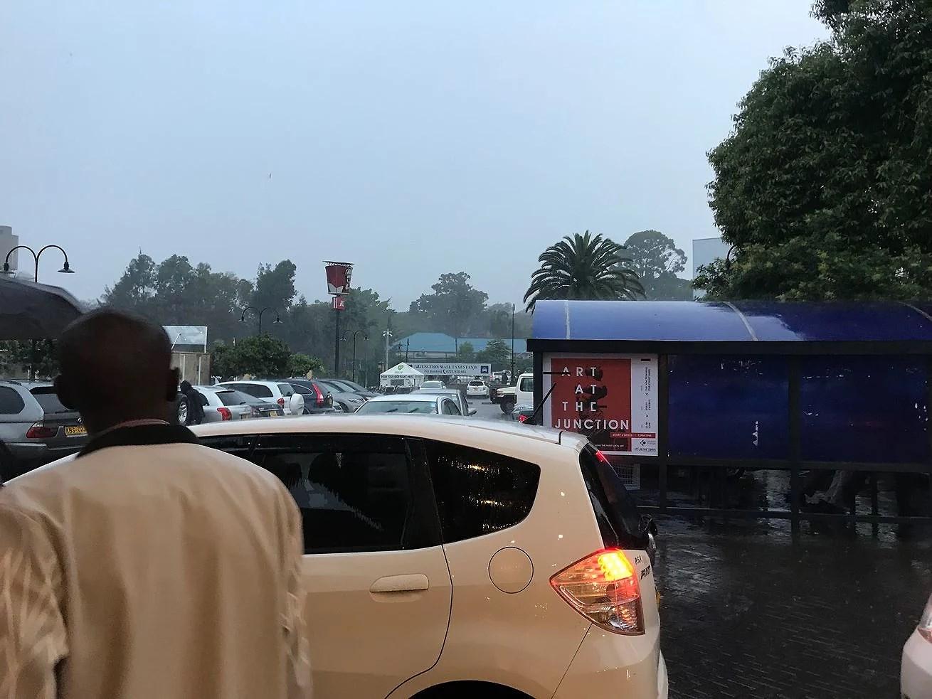 Regn och strömavbrott
