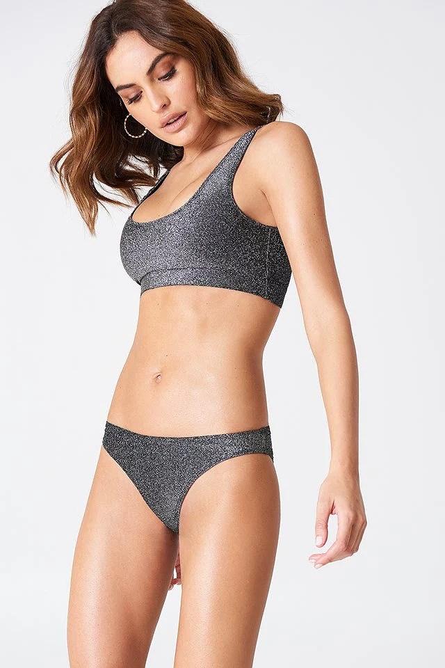 glittery bikini