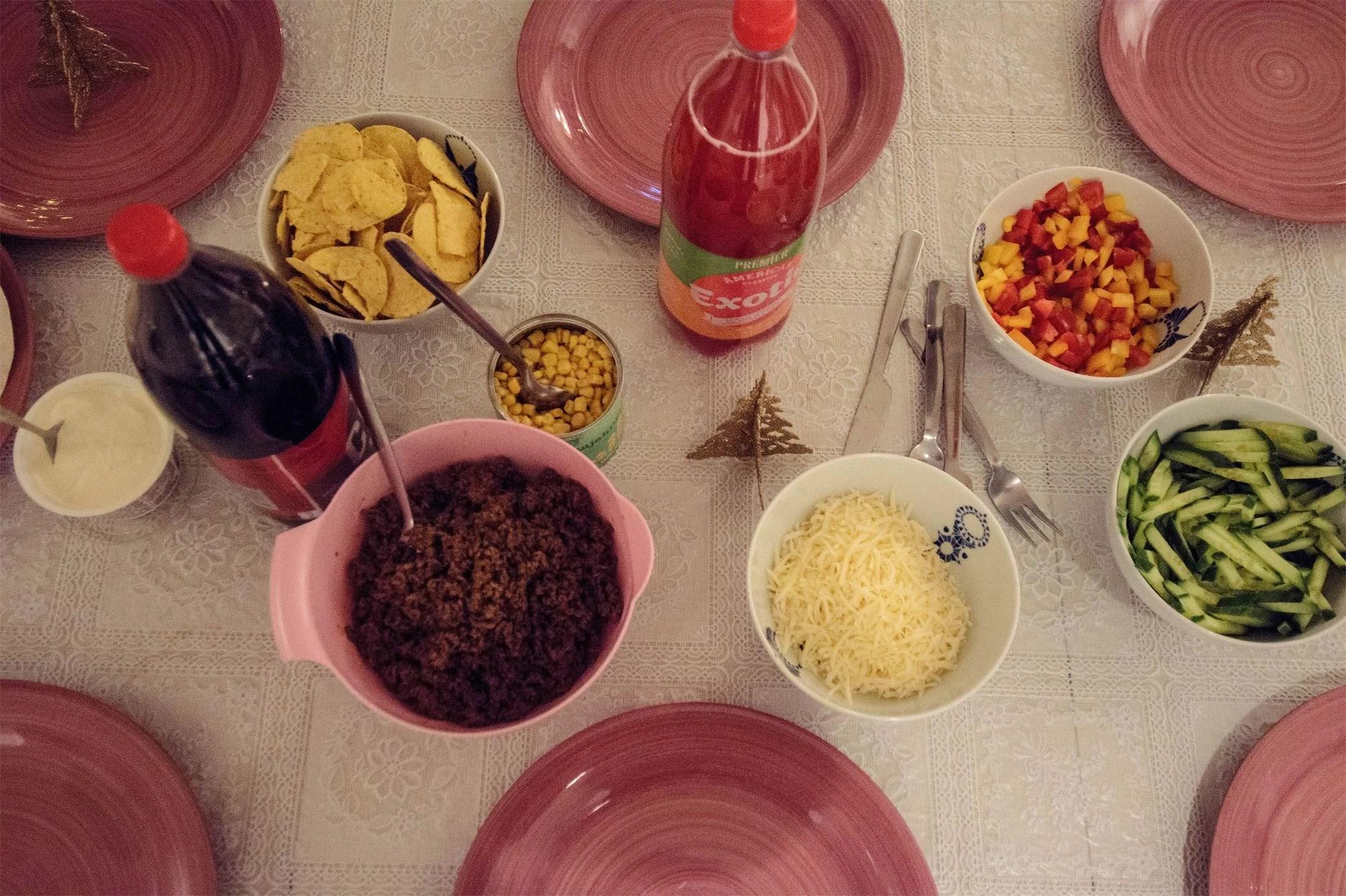 TACOS & SPELKVÄLL
