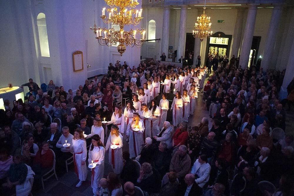 Lucia i Fredrikskyrkan
