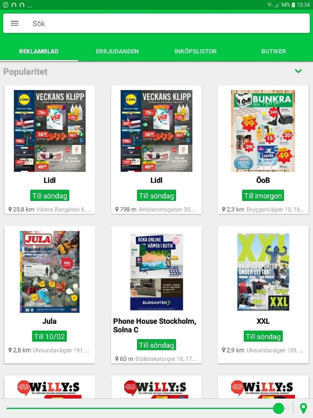Shopgun en fantastisk app som hjälper oss att spara mycket pengar!
