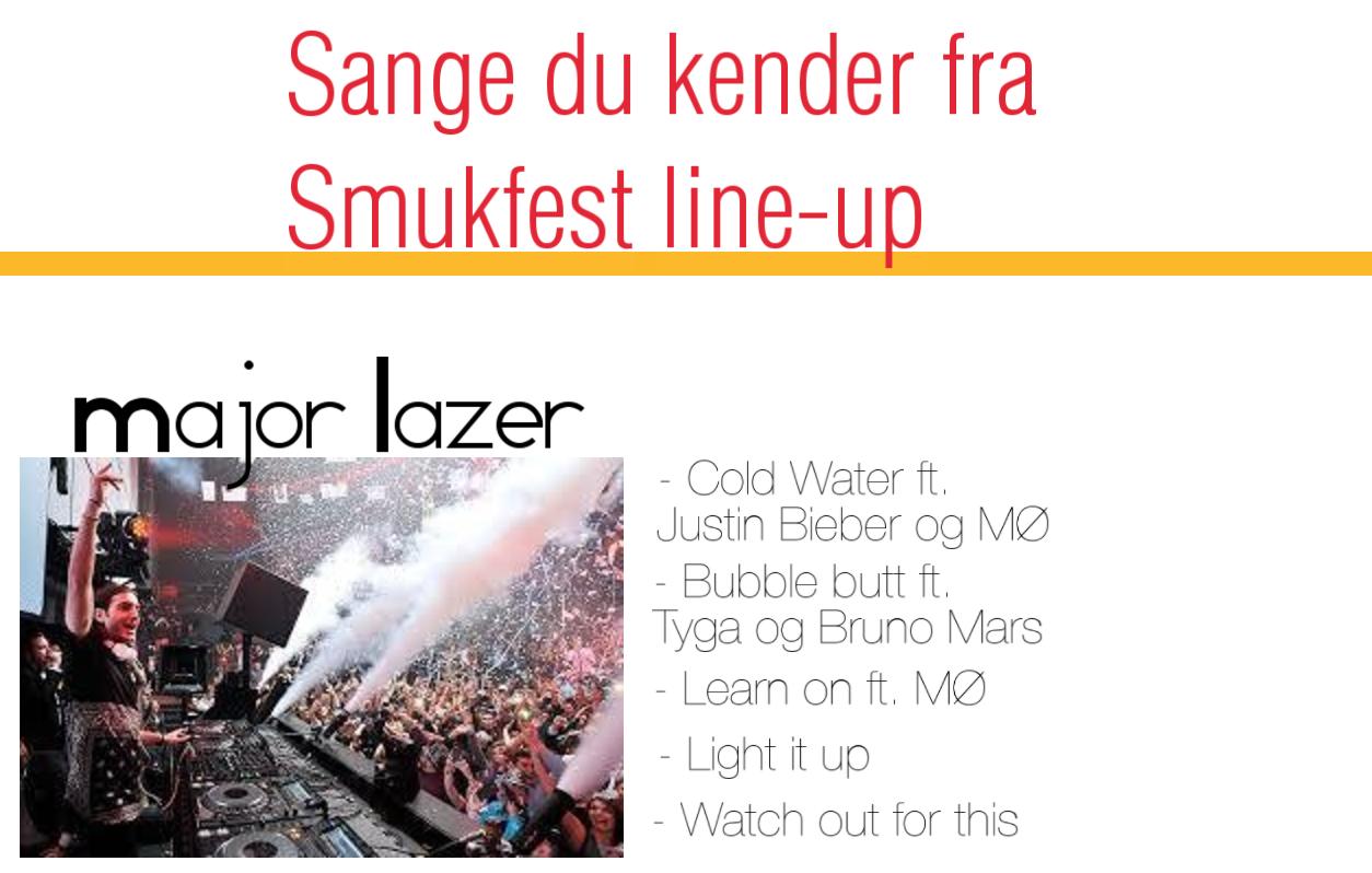 Mine tanker om... Smukfest line-up - Day 4