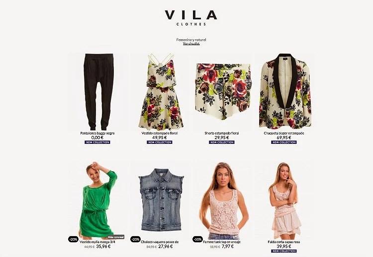 Viste tu verano con Vila Clothes vía Buylevar
