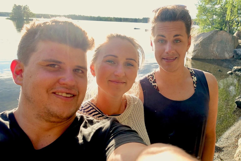 TOA = Tindra, Olivia och Anton