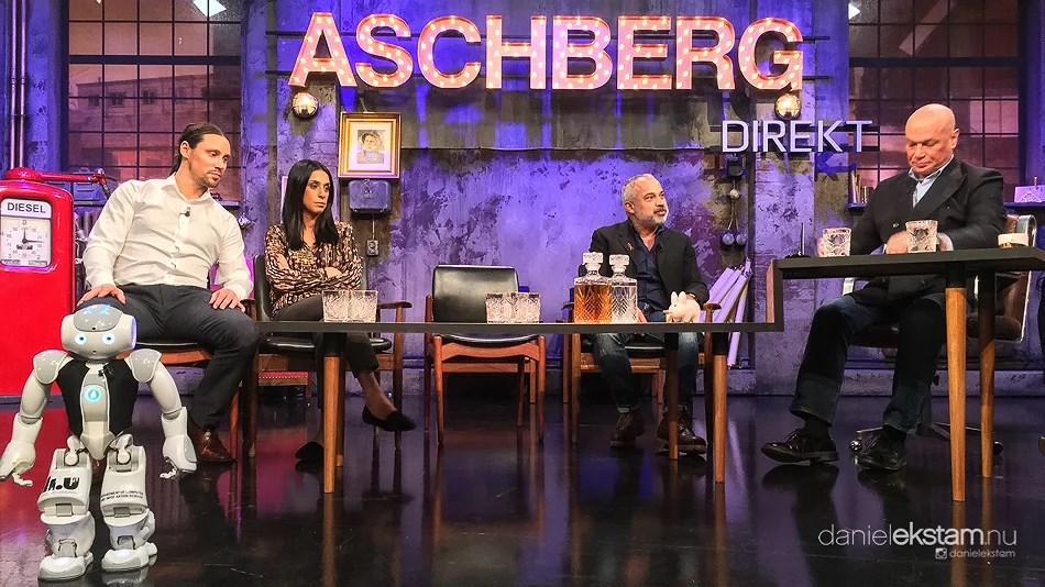 Imponerad av Aschberg direkt!