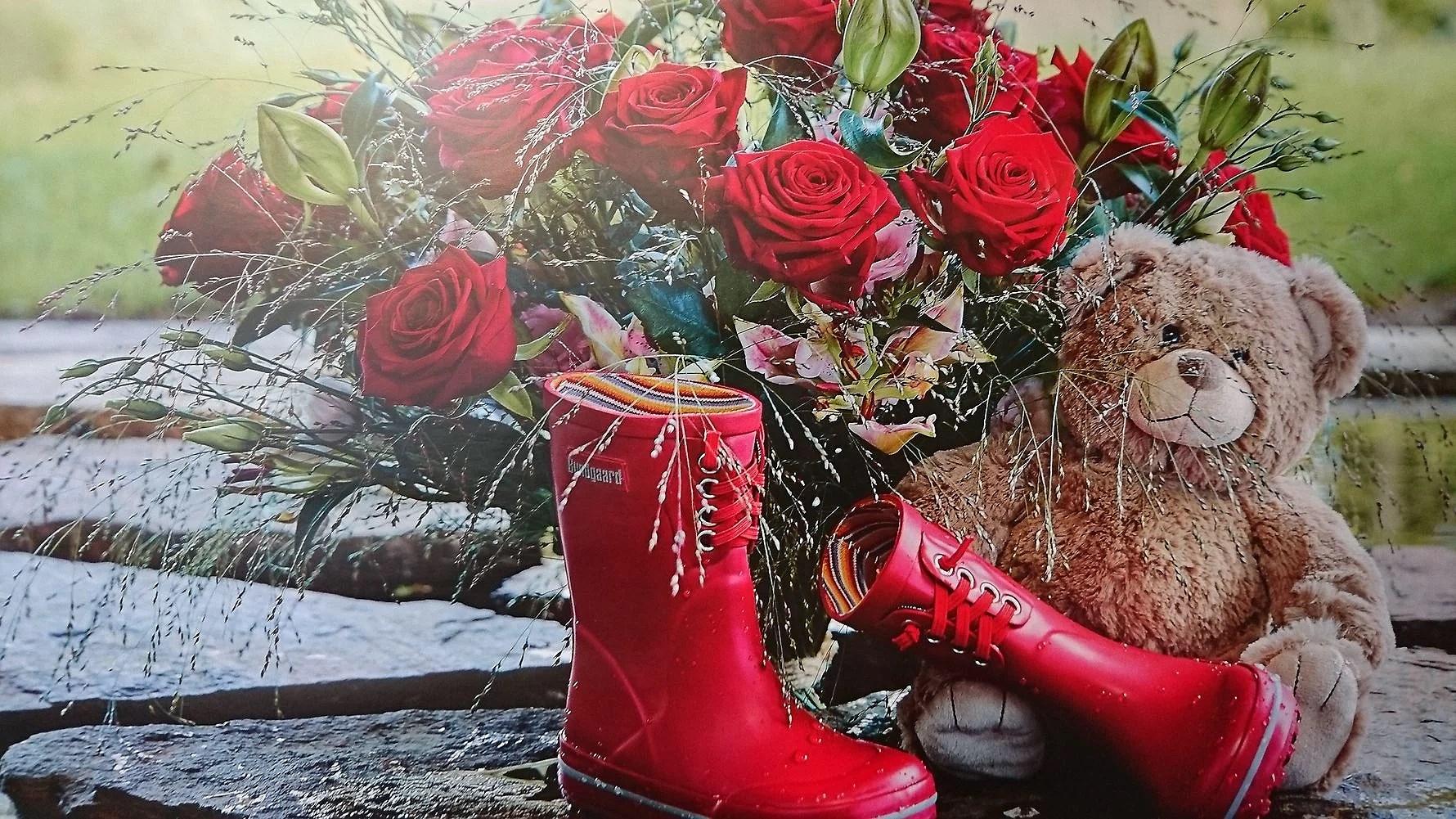En dag i blomsterbutikken.... Mors dag