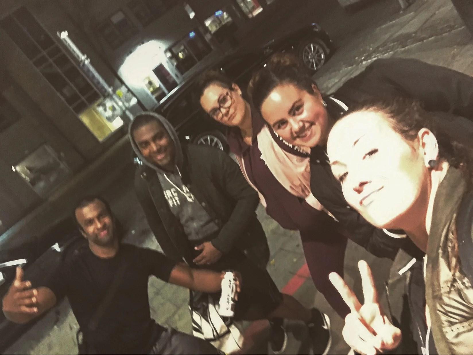 Tonight's crew