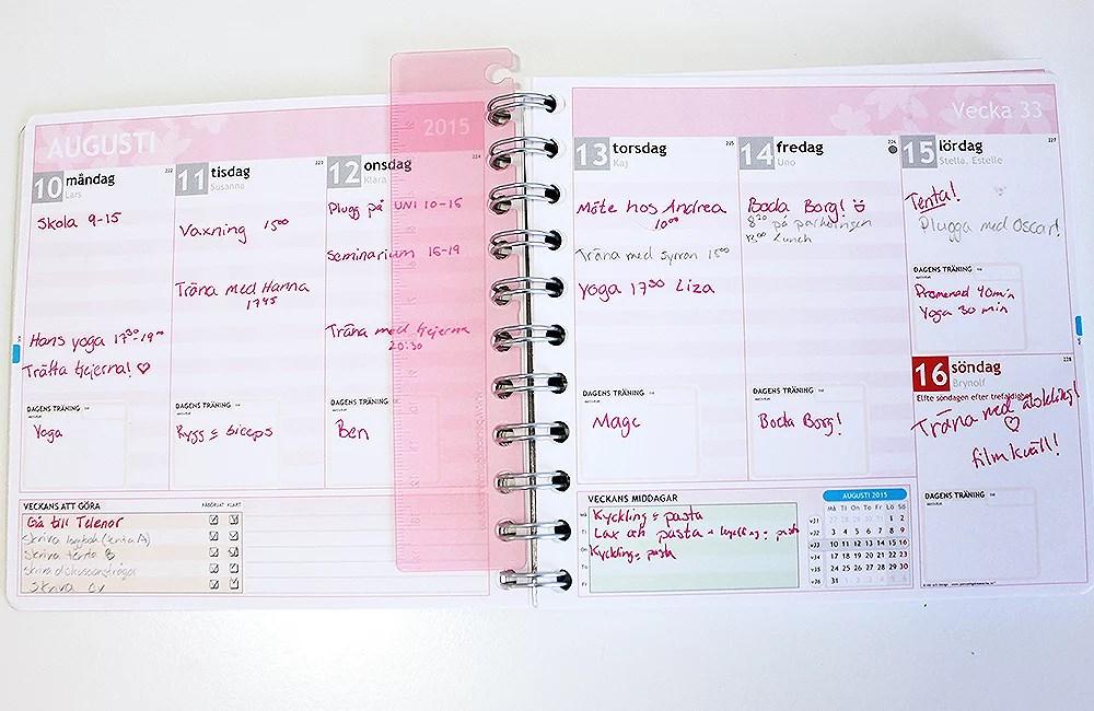 egen kalender