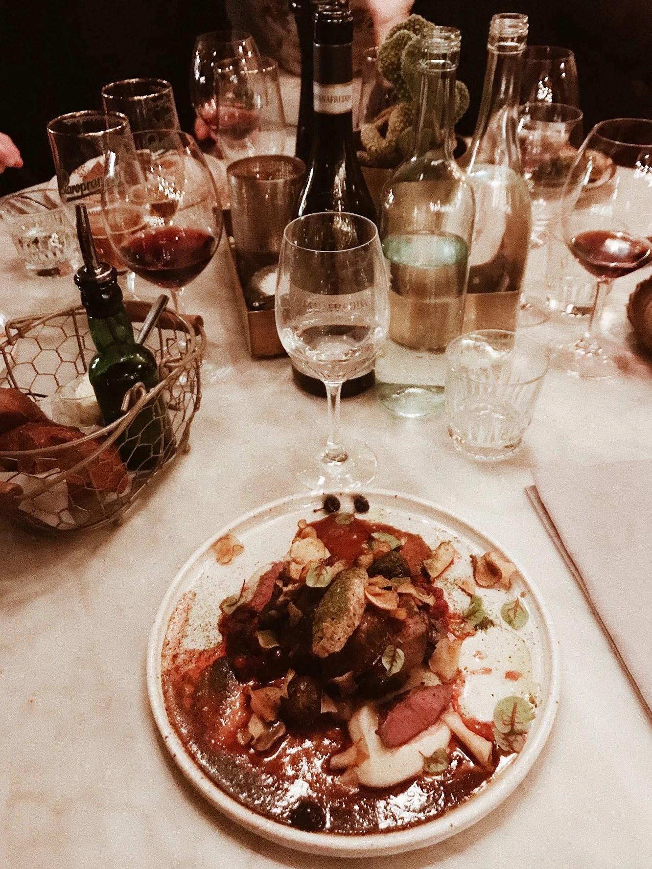 DINNER AT VINCI