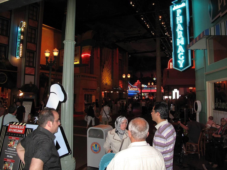 Menyer för snabbmatsrestauranger på Disneyland Paris - Walt Disney Studios Park (EuroDisney)