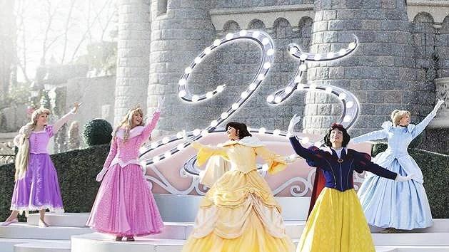 Ny scenshow på Disneyland Paris