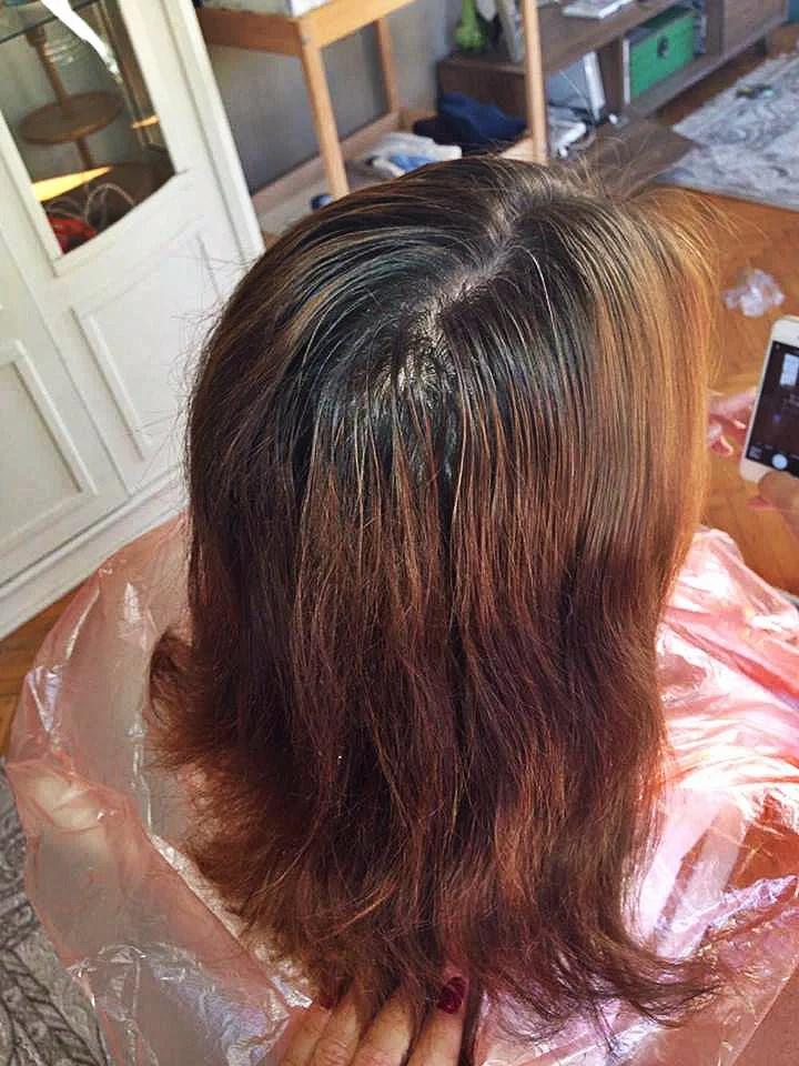 Preggy gets new hair