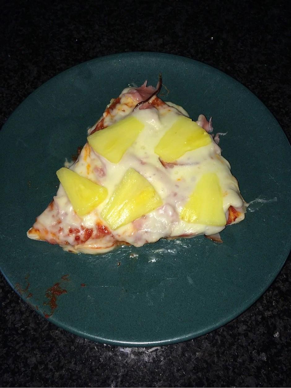 Hemmagjord snabbpizza