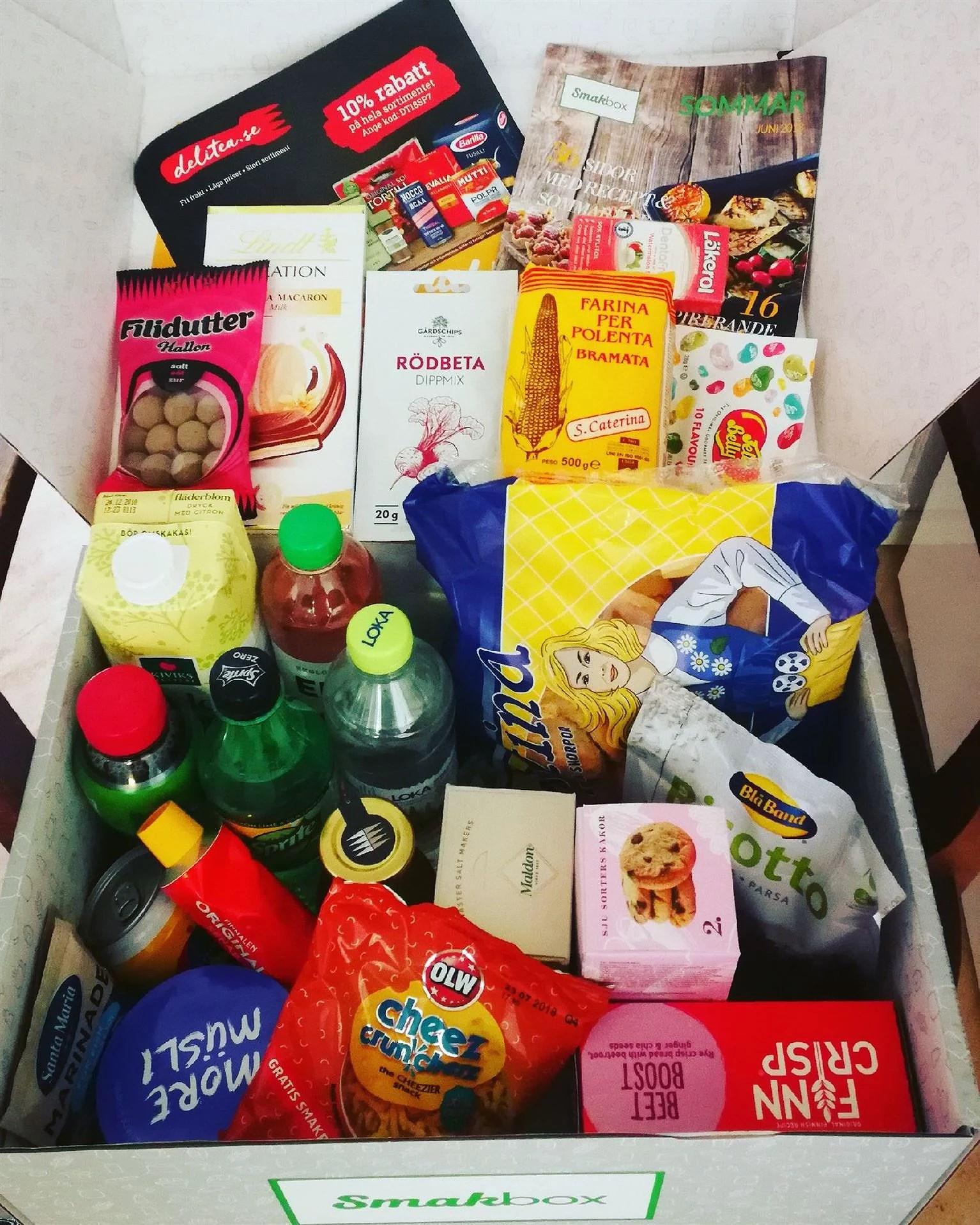 Smakbox Sommar