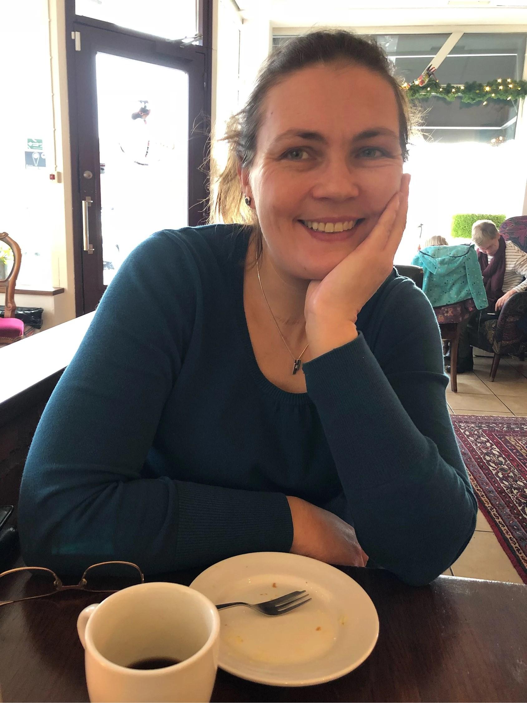 Lunch med mamma/mormor