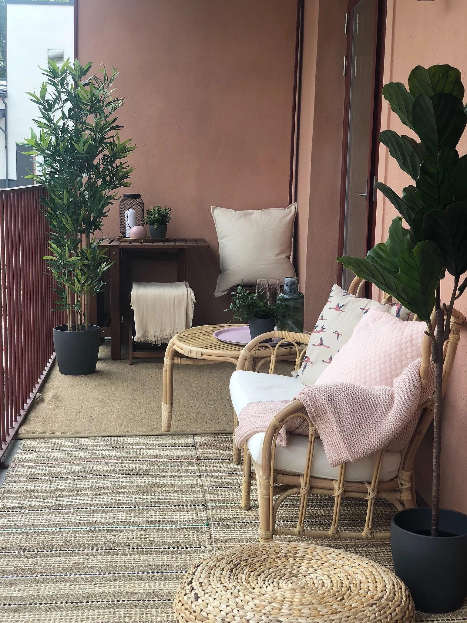 Balkong på film