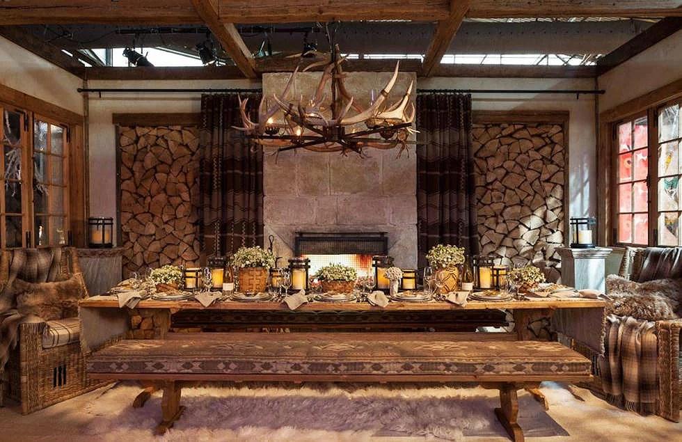 How Ralph Lauren Sets The Table Fjellveien