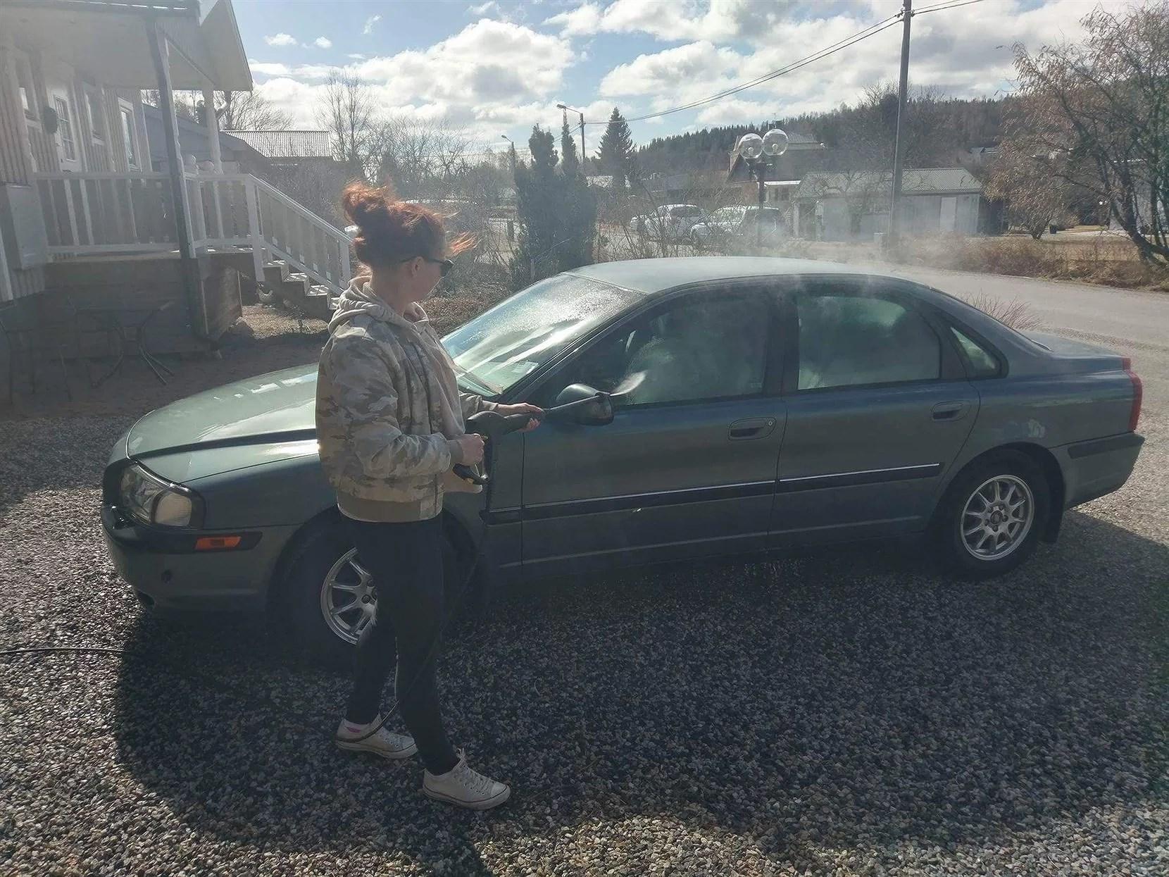 Lugn söndag och biltvätt!