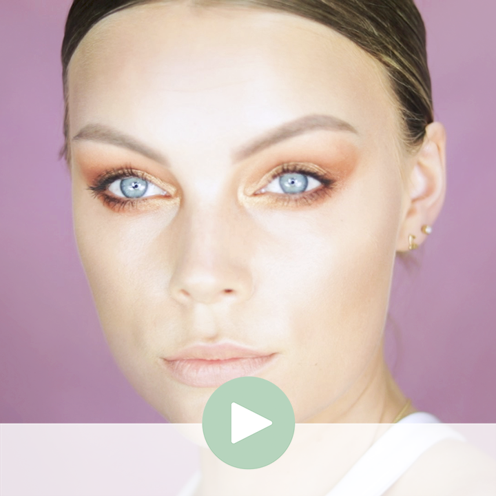 EASY EYEMAKEUP FOR BEAUTIFUL BLUE EYES
