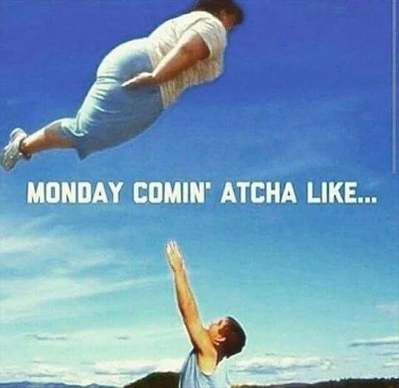 Og det var tak til mandag.