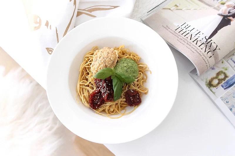 Vegan & gluten-free pasta bowl