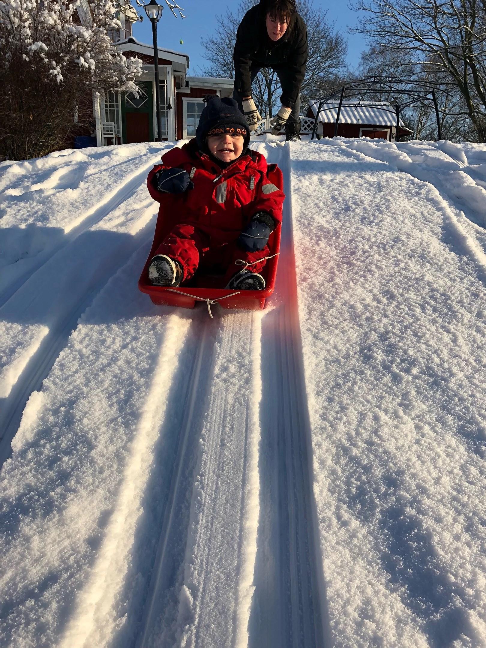 Härliga vinterdag