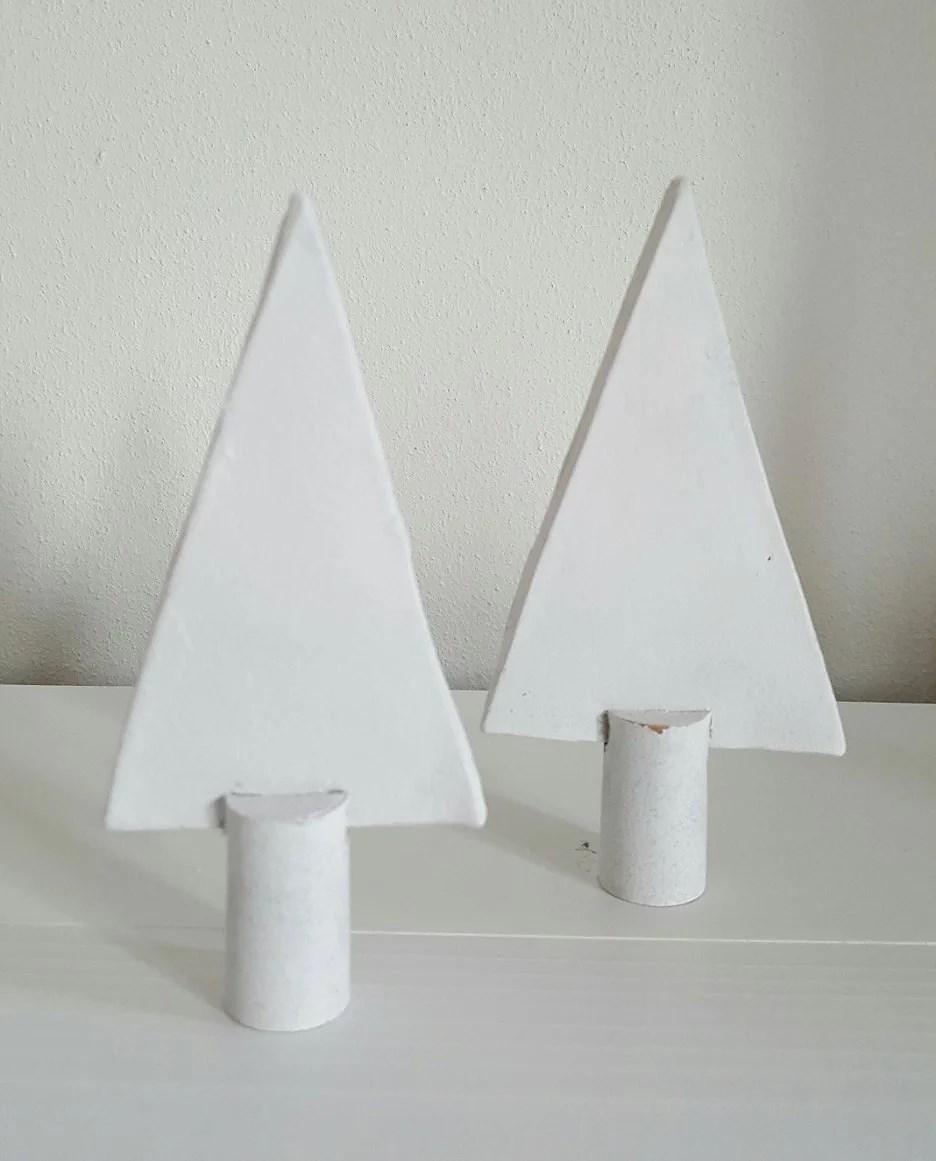 Kerstboompje klei & kurk