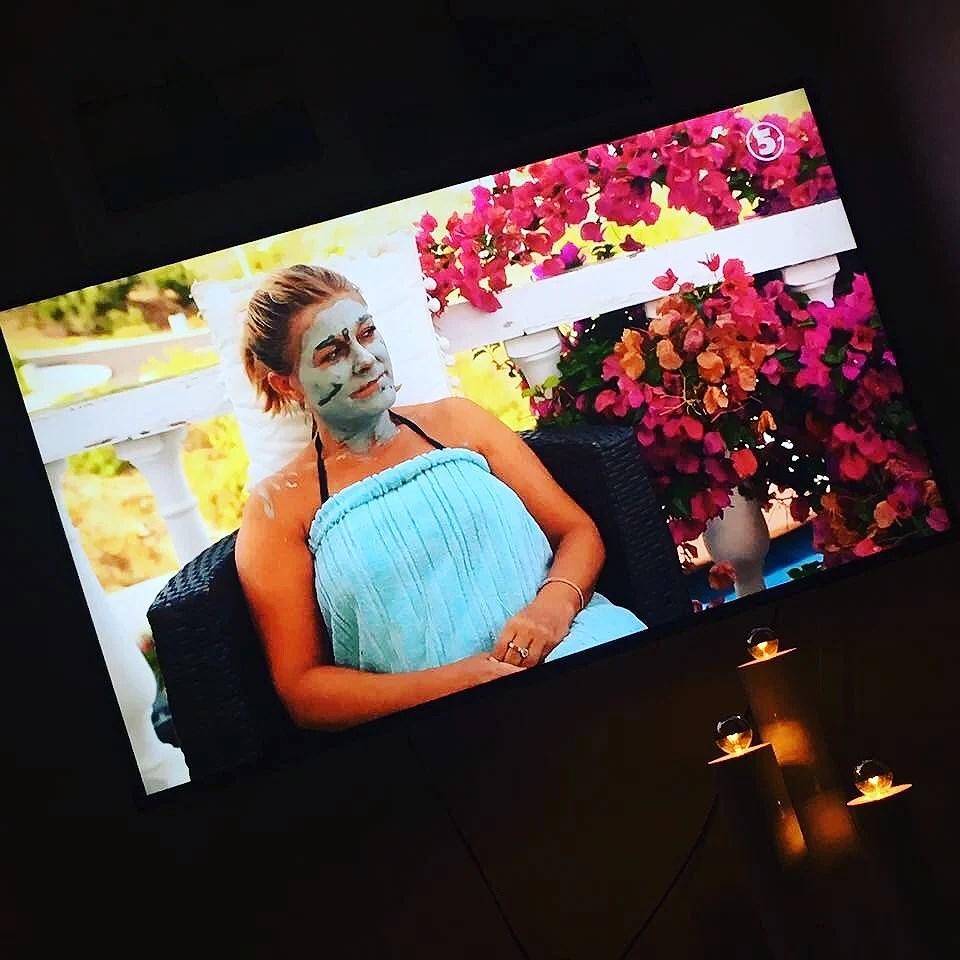 Vår mudmask var med på TV