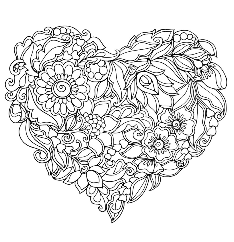 Gratis mandala bilder mm att f rgl gga mergratis blog for Coloring pages for adults difficult flower