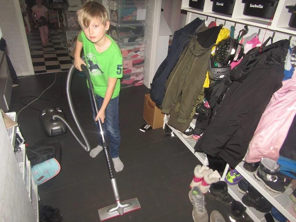 När barnen själva kontrollerar sin veckopeng