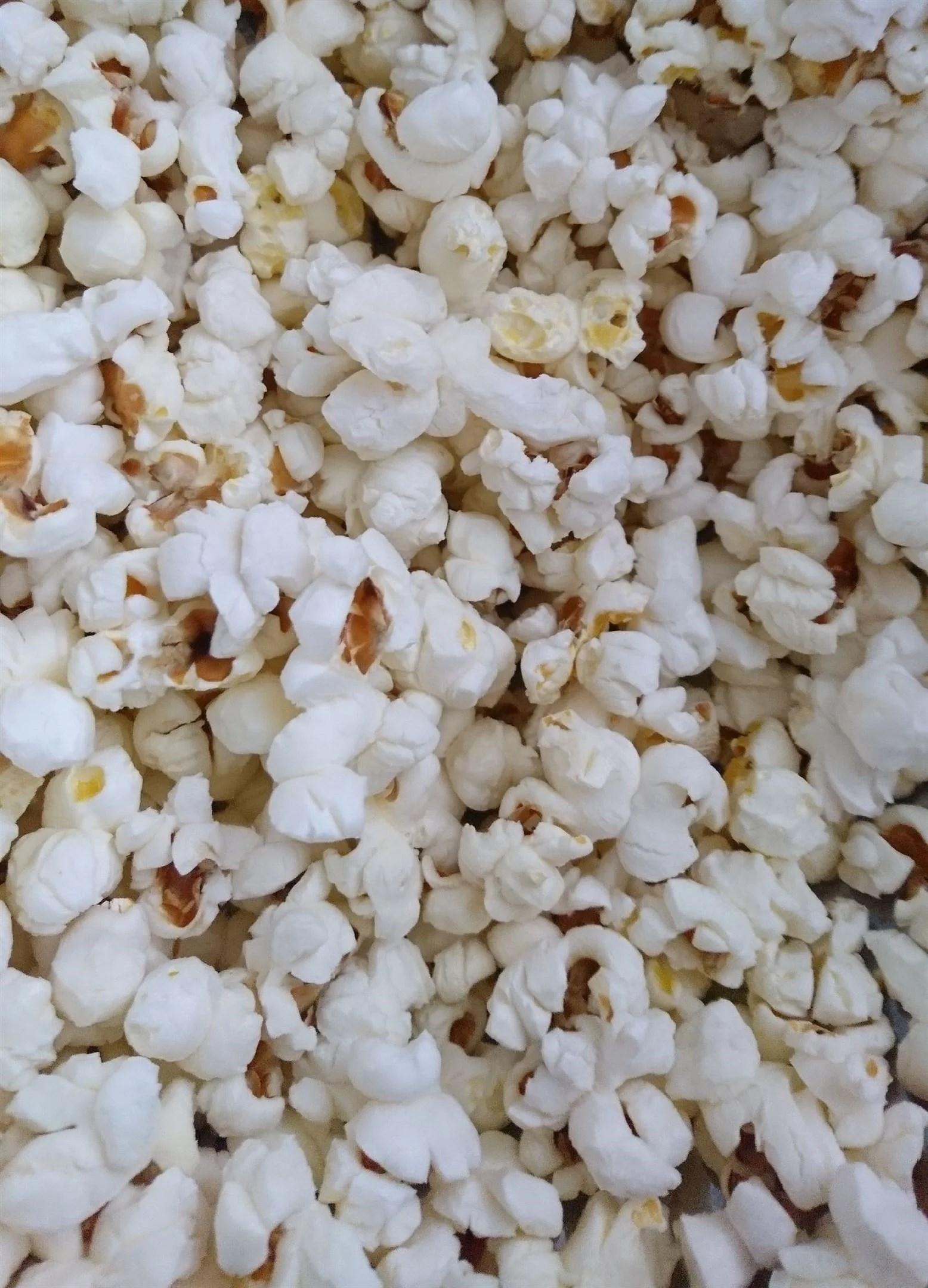 Popcorn till frukost