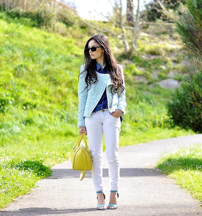 ...Blue Sandals...