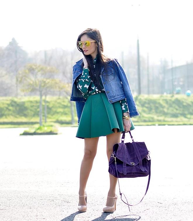 Neo Green Skirt_05