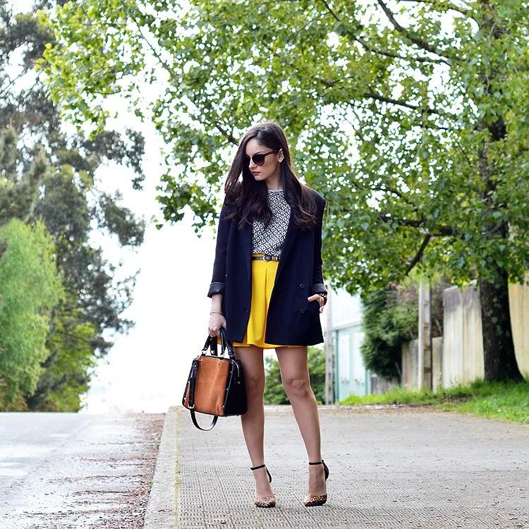 Zara_ootd_outfit_yellow_animal_print_blazer_08