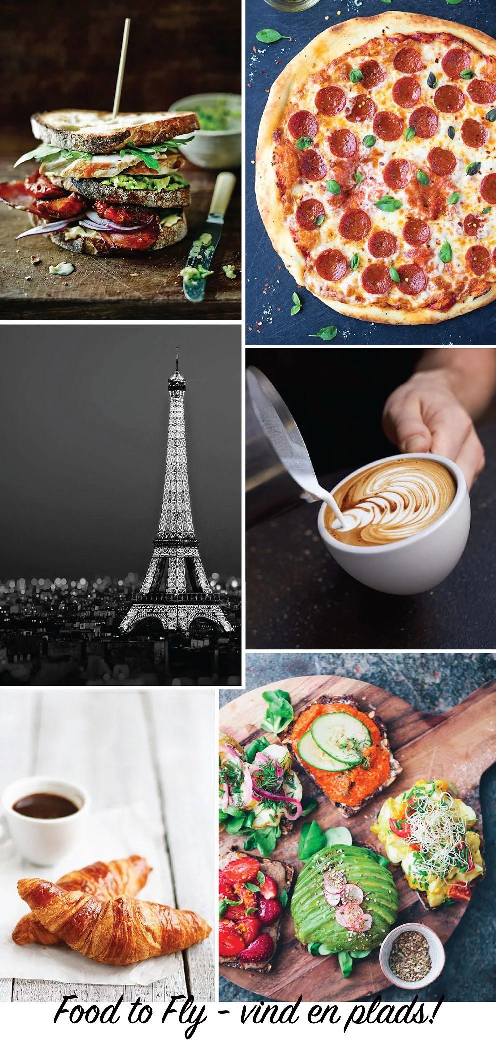Travel, Paris, Mad, Foodie, Pizza, Kaffe, Pæn kaffe, Julie Mænnchen, Dansk blogger, Populær blogger, SAS, Flyve, Rejseblog, Rejseblogger, Dansk rejseblogger