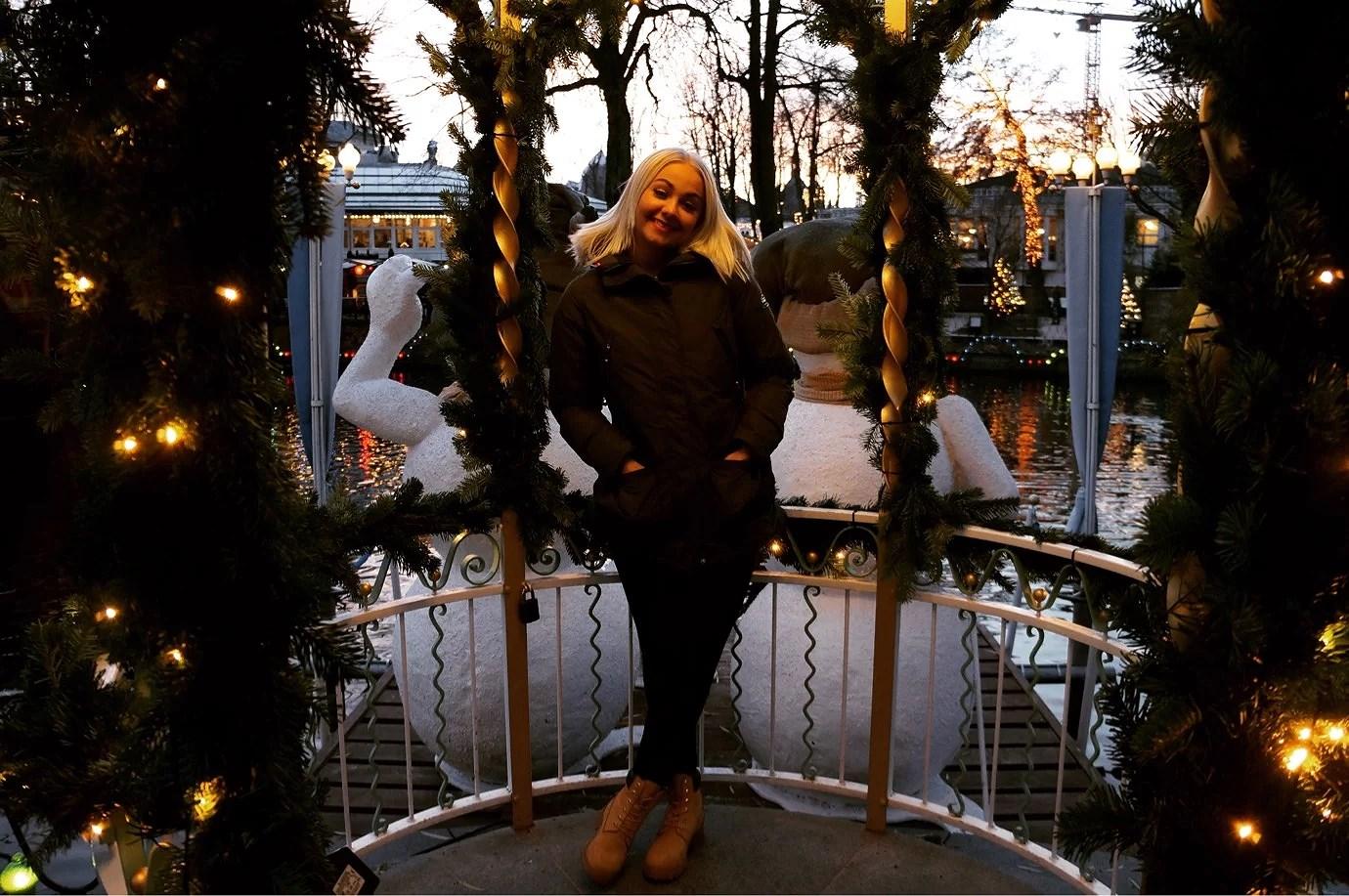 Tivoli i Köpenhamn 🎄🌟