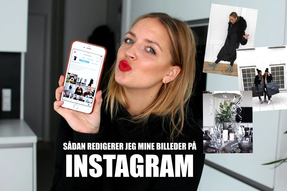 Frederikke Egel Instagram billederedigering Facetune how to