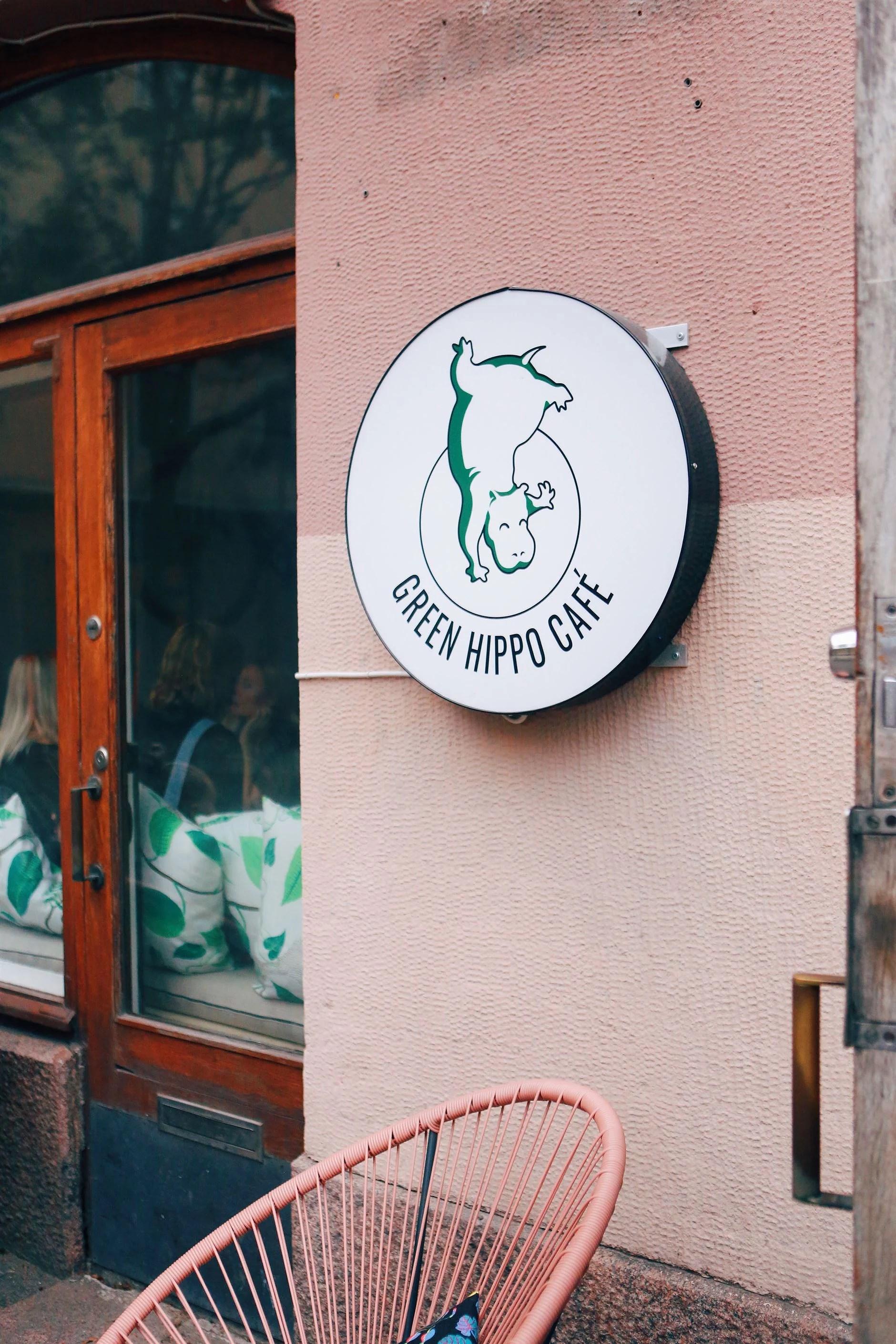 THE GREEN HIPPO CAFÉ