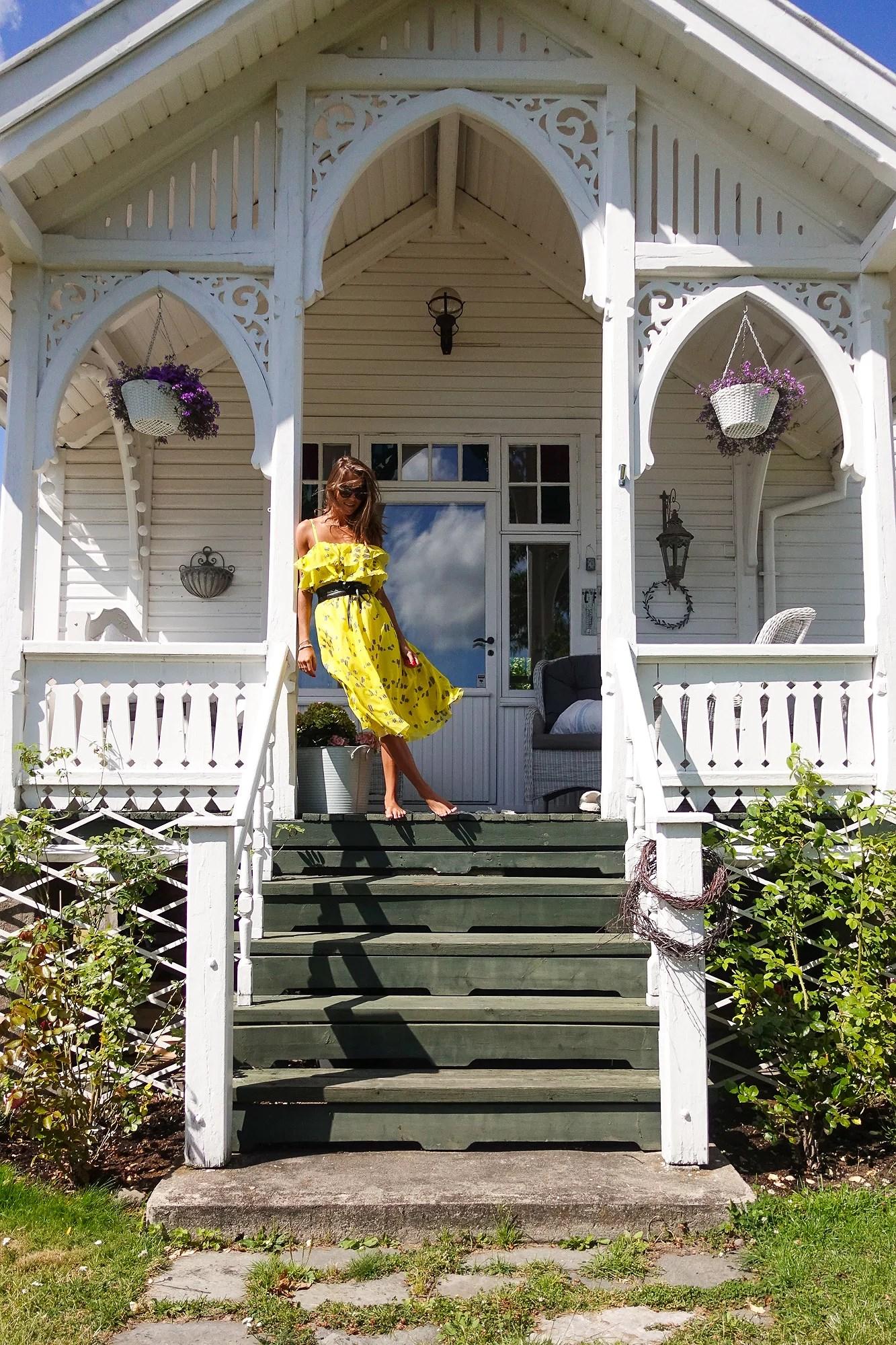 Yellow vintage dream