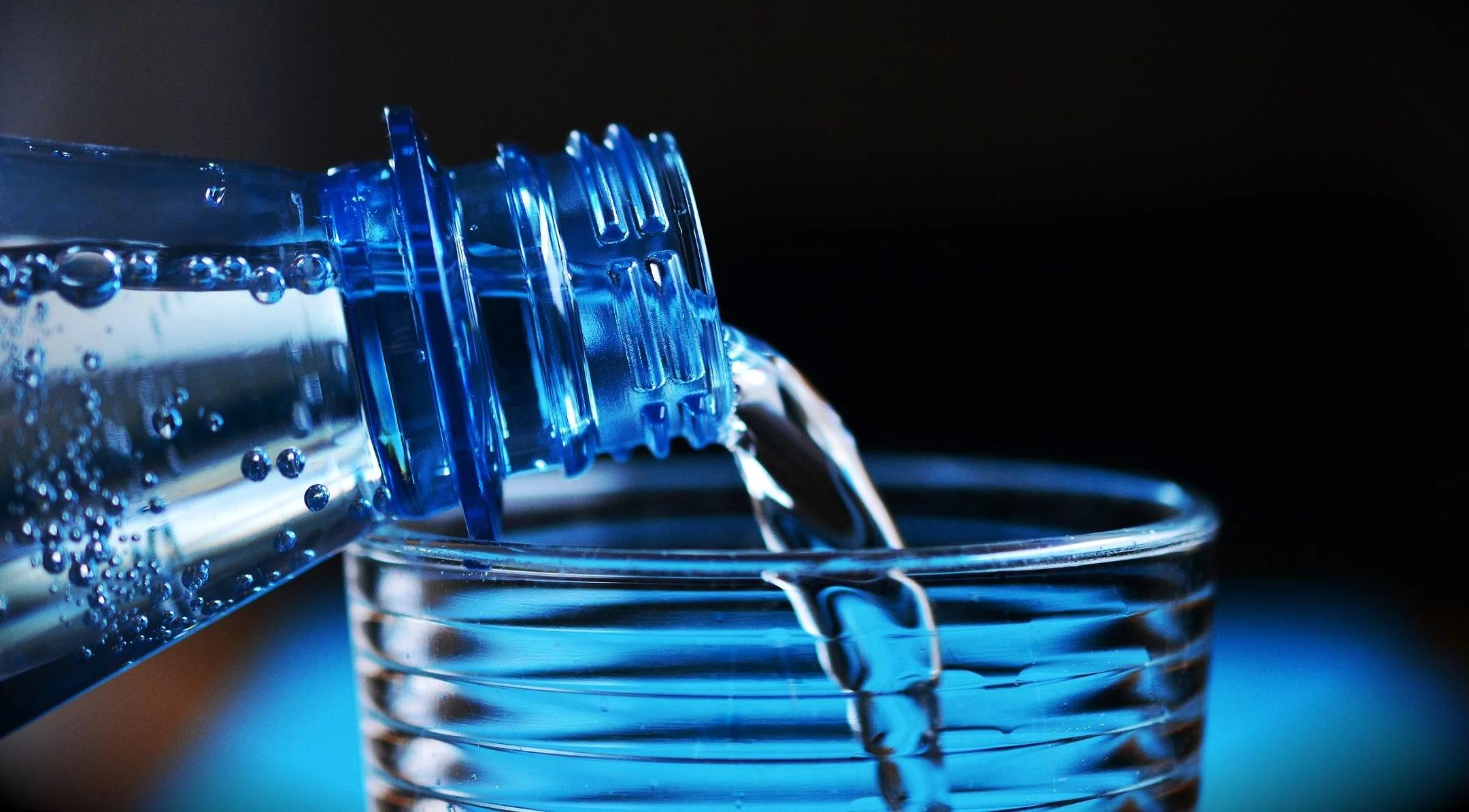 Du skal huske at drikke vand!