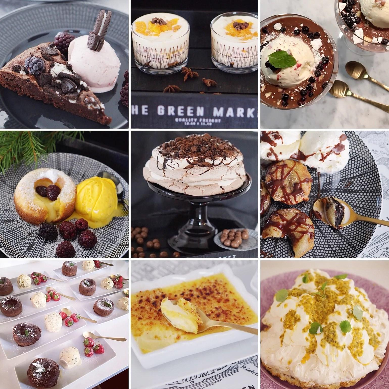 Tips på desserter till nyår