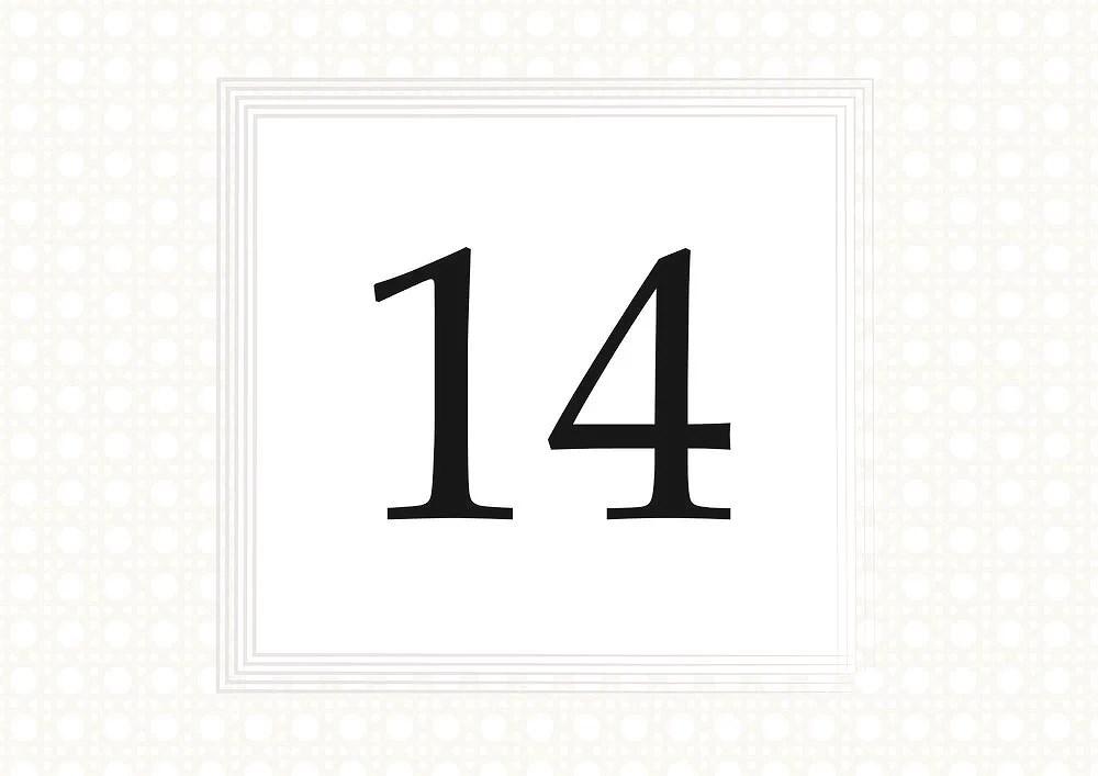 14 December