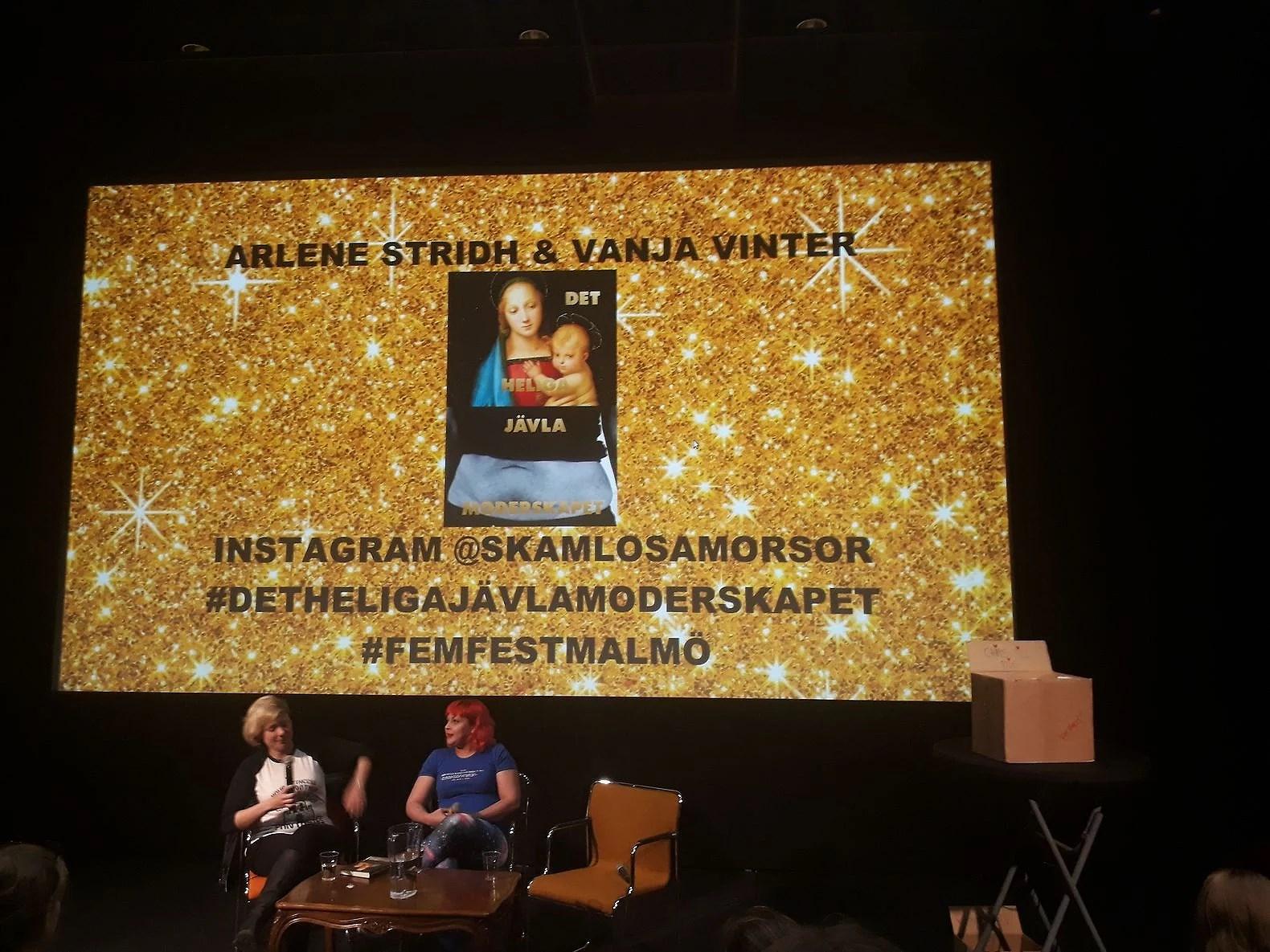 Bilder från Feministisk festival 2017