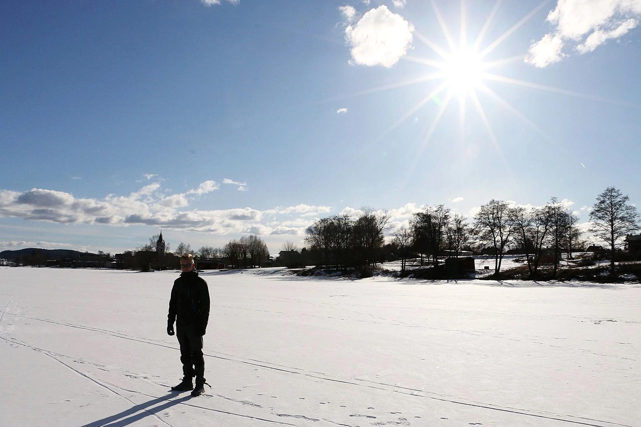 En härlig eftermiddag på sjön
